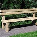 Bilder von Sitzbank SARNEN mit Rückenlehne