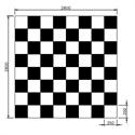 Bilder von Spielfläche «Schach» und «Dame»