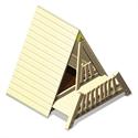 Bilder von Spielhaus «Zelt mit Balkon»