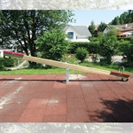 Balkenwippe Holz 500 cm