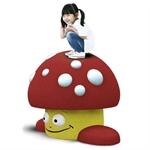 3D-Spielfigur «Pilz»