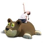 3D-Spielfigur «Tiger» dunkel