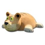 3D-Spielfigur «Tiger» hell