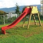 Leiterbock mit Rutschbahn, 300 cm