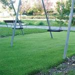 Kunstrasen-Fallschutzplatte 250 cm