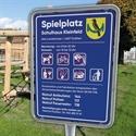 Bild für die Kategorie 5.4 Spielplatz-Tafel